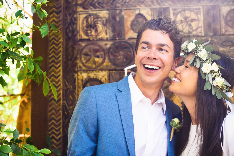 Parker Palm Springs Wedding - Couple Portrait