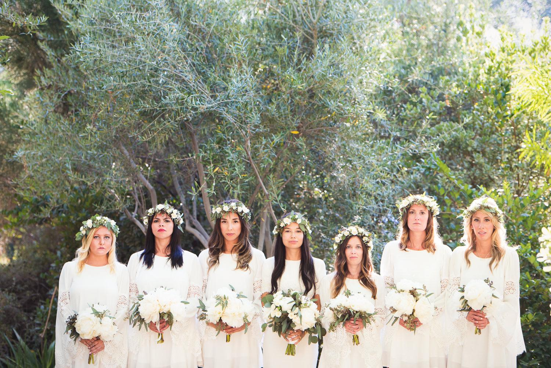 Parker Palm Springs Wedding - Bridal Party Portrait