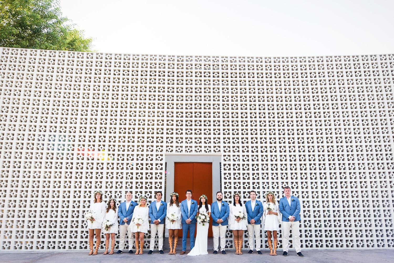 Parker Palm Springs Wedding - Groomsman & Bridesmaids