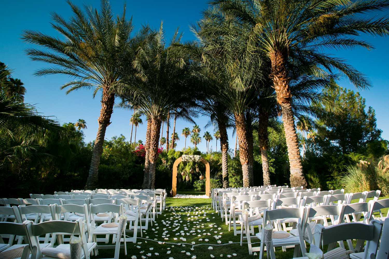 Parker Palm Springs Wedding - Ceremony Details