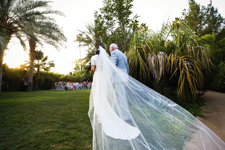 Parker Palm Springs Wedding - Stunning Reem Acra Dress