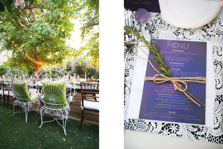 Parker Palm Springs Wedding - Artisan Events Details
