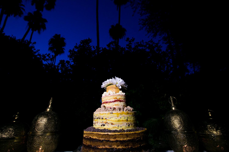 Parker Palm Springs Wedding - Milk Bar Cake