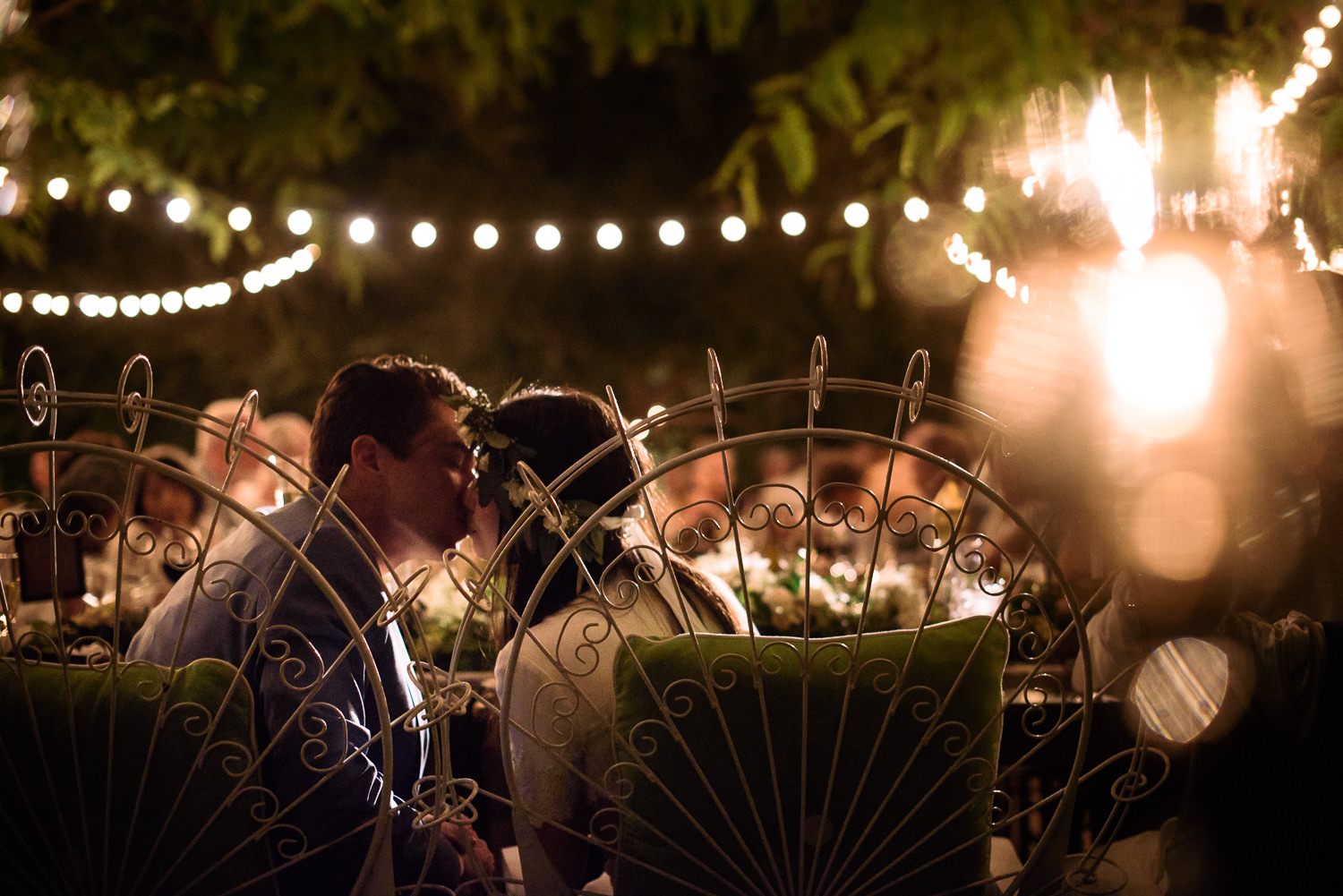 Parker Palm Springs Wedding - Sharing A Kiss