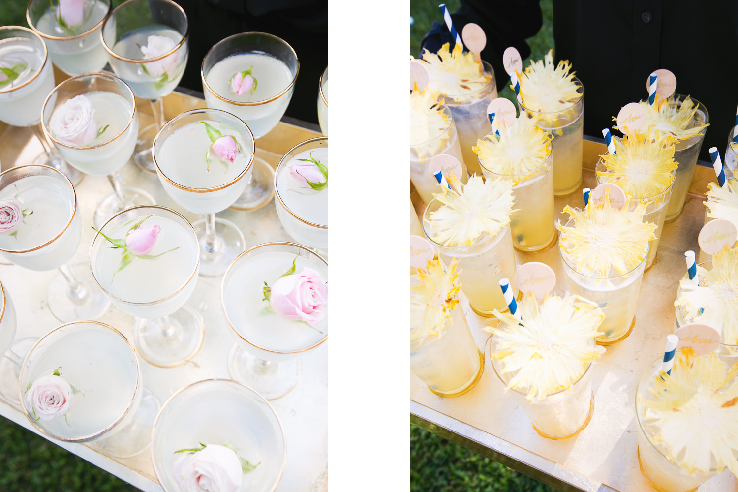 Olowalu Plantation House wedding with cocktails by Garnish Cocktail Catering