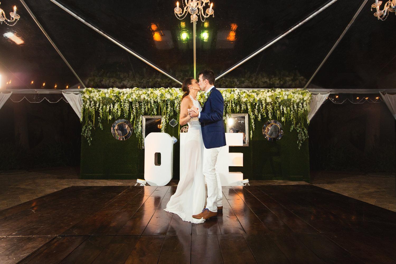 Olowalu Plantation House wedding reception