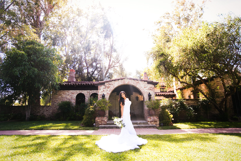 Hummingbird Nest Ranch Wedding - Persian Bride Portrait