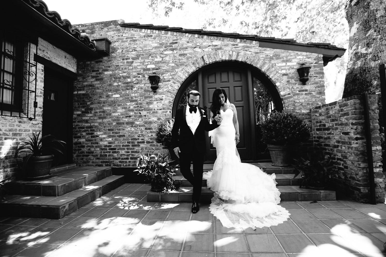 Hummingbird Nest Ranch Wedding - Persian Bride & Groom