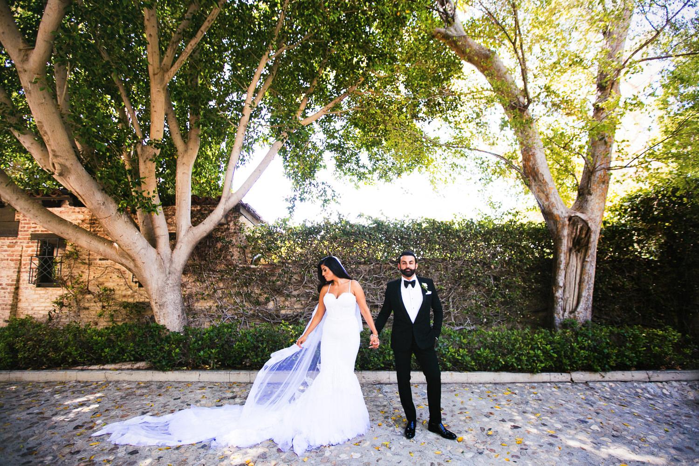 Hummingbird Nest Ranch Wedding - Persian Couple