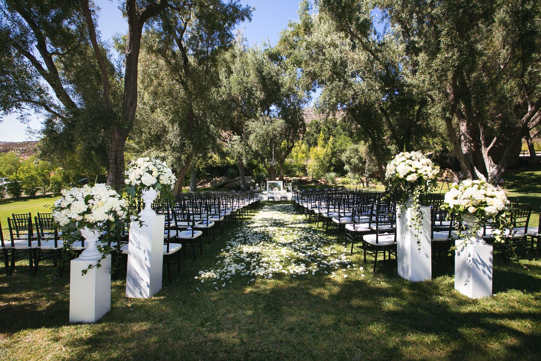Hummingbird Nest Ranch Wedding - Persian Wedding Ceremony