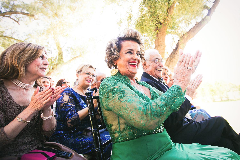 Hummingbird Nest Ranch Wedding - Persian Wedding Guests