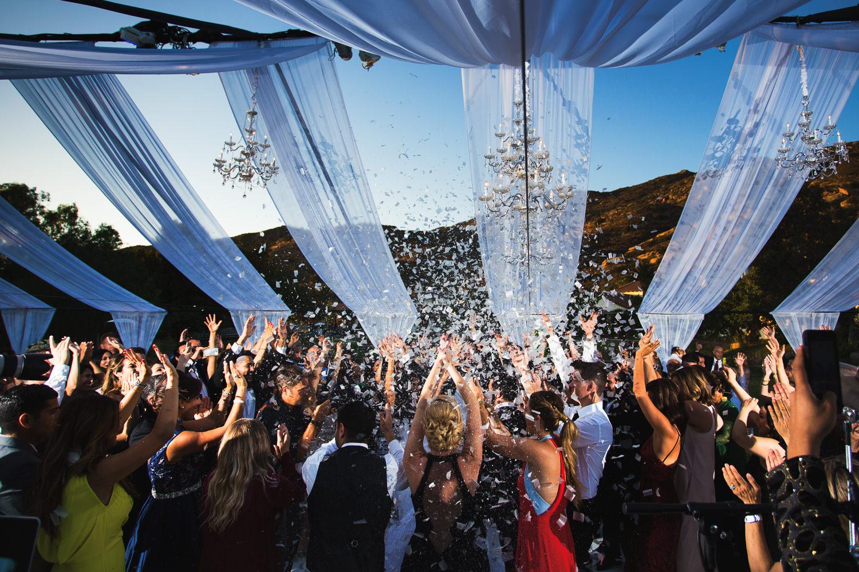 Hummingbird Nest Ranch Wedding - Wedding Celebration