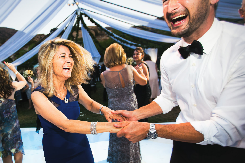 Hummingbird Nest Ranch Wedding - Persian Wedding Reception