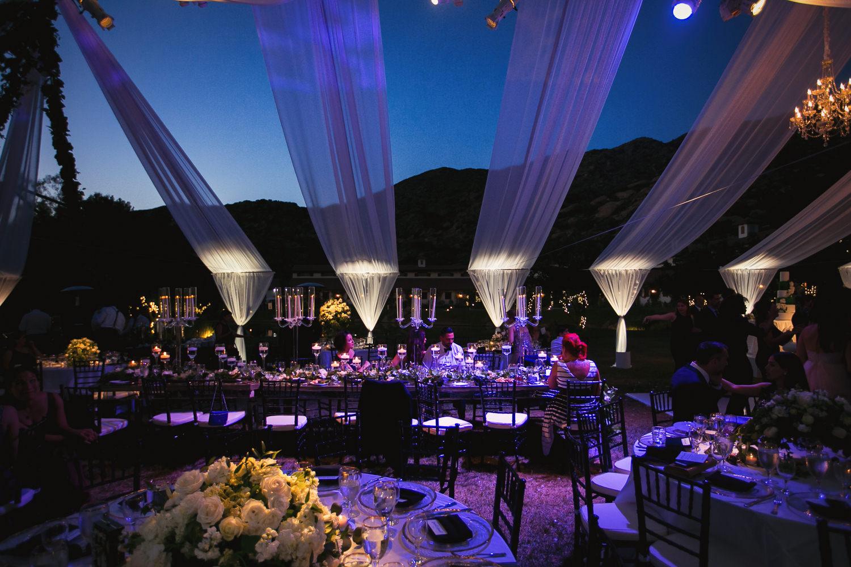 Hummingbird Nest Ranch Wedding - Persian Wedding Reception Decor