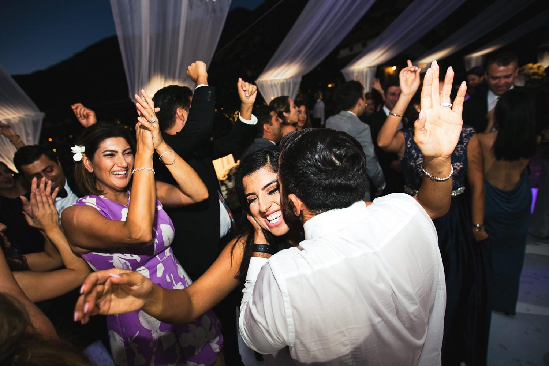Hummingbird Nest Ranch Wedding - Persian Bride & Groom Dancing