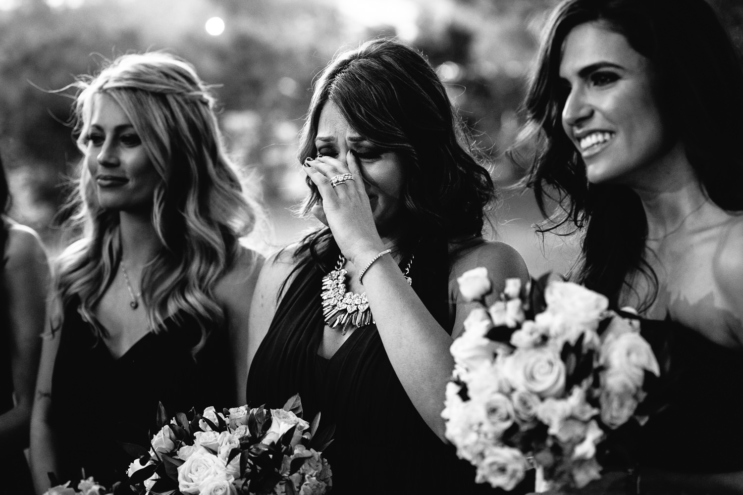emotional moments at Hummingbird Nest wedding by Callaway Gable