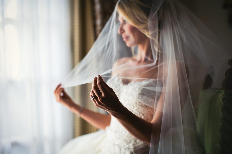 Four Seasons Santa Barbara Wedding - Beautiful Bride in Dress