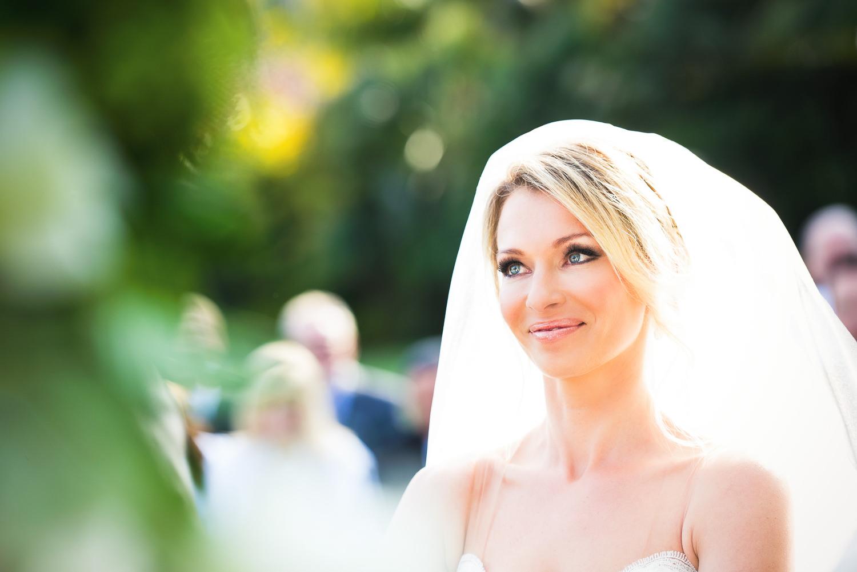 Four Seasons Santa Barbara Wedding - Happy Bride