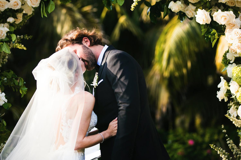 Four Seasons Santa Barbara Wedding - Kissing The Bride