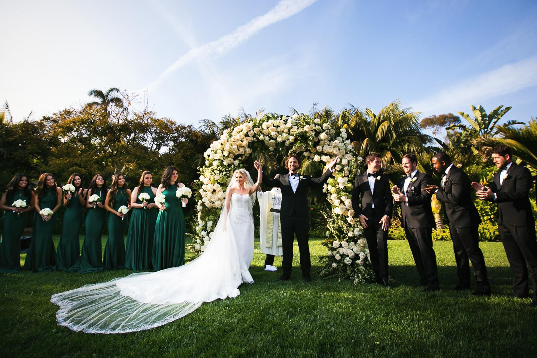 Four Seasons Santa Barbara Wedding - Just Married