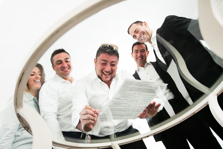 Same Sex Avalon Palm Springs Wedding - Signing License