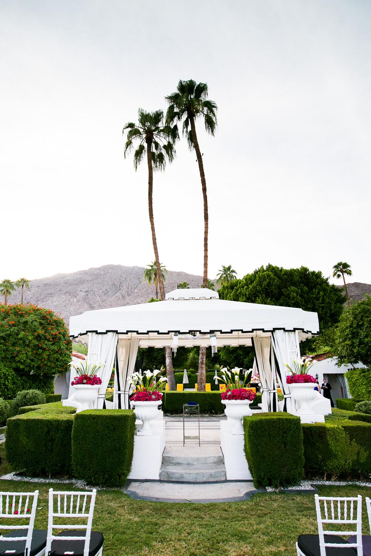 Same Sex Avalon Palm Springs Wedding - Beautiful Wedding Ceremony