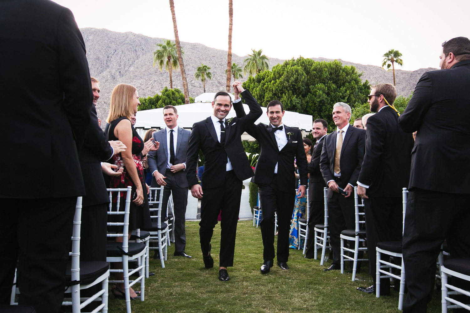 Same Sex Avalon Palm Springs Wedding - Happily Married