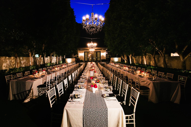 Same Sex Avalon Palm Springs Wedding - Wedding Reception Decor
