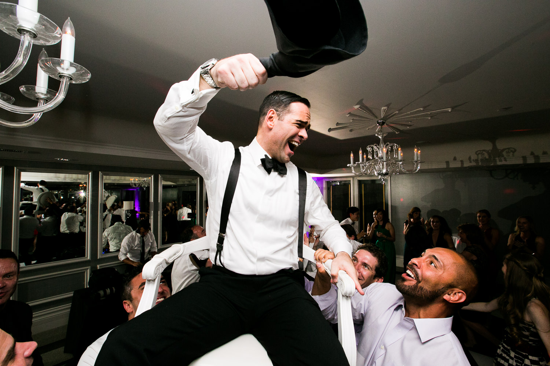 Same Sex Avalon Palm Springs Wedding - Newly Wed Joy At Wedding Reception