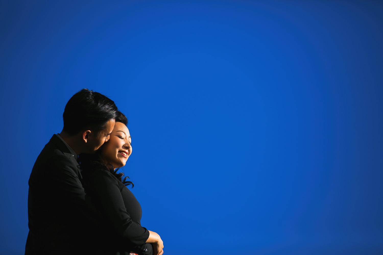 Los Angeles Engagement Photographer - Embracing Couples Engagement