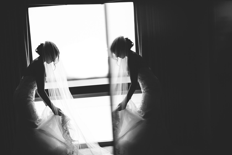 SLS Beverly Hills Wedding - Bride Getting Ready