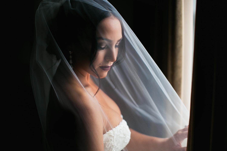 SLS Beverly Hills Wedding - Beautiful Bride