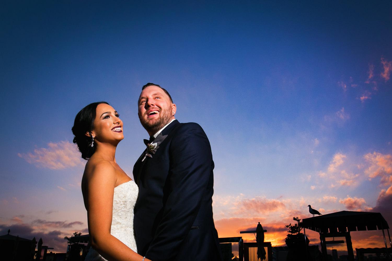 SLS Beverly Hills Wedding - Under the Sunset