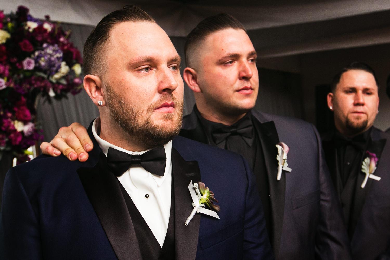 SLS Beverly Hills Wedding - Emotion by the Groomsmen