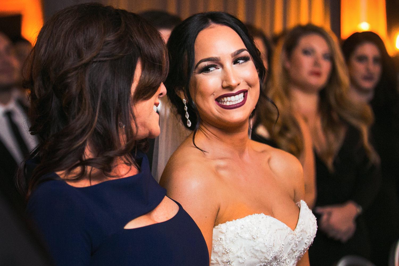 SLS Beverly Hills Wedding - Happy Bride