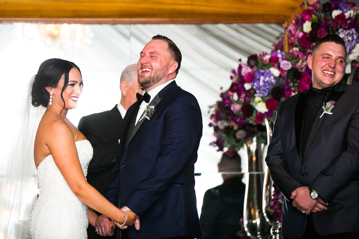 SLS Beverly Hills Wedding - Relief and Happiness