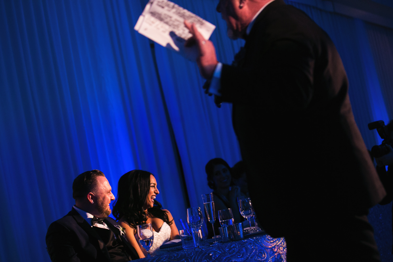 SLS Beverly Hills Wedding - Toasts