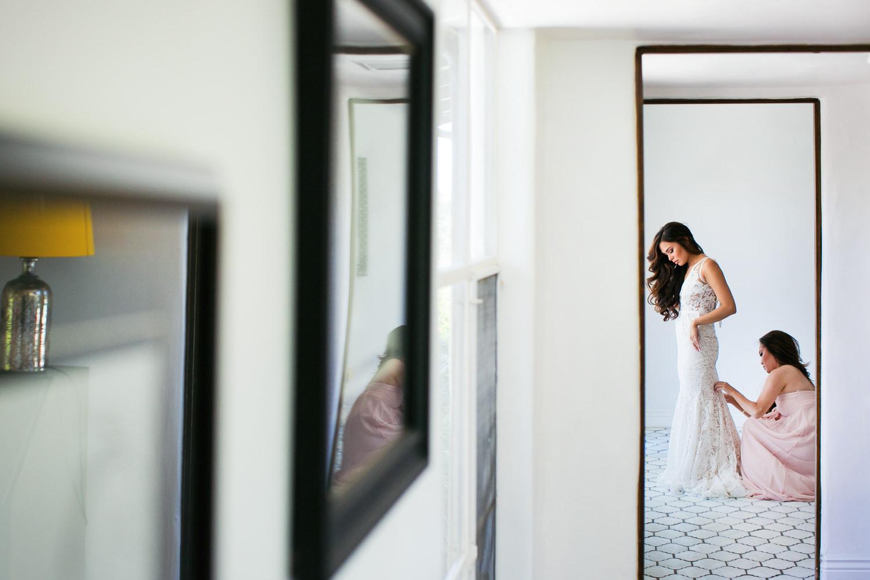 Los Olivos Wedding - Bride Getting Ready