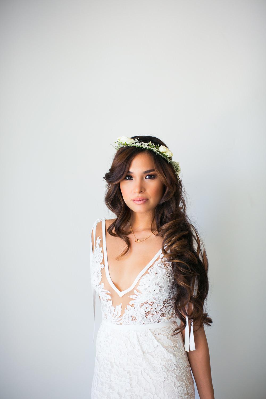 Los Olivos Wedding - Soft Light on Beautiful Bride