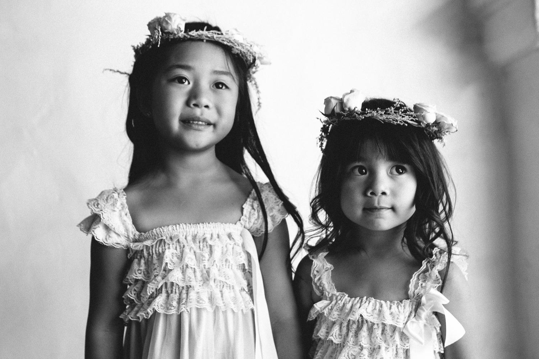 Los Olivos Wedding - Cute Kids Ready For The Wedding