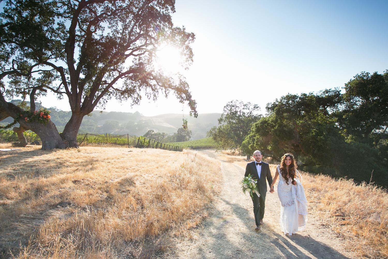 Los Olivos Wedding - Natural Light in Pretty Wedding