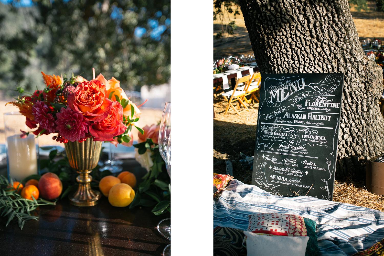 Los Olivos Wedding - Pretty Wedding Details in Natural Light