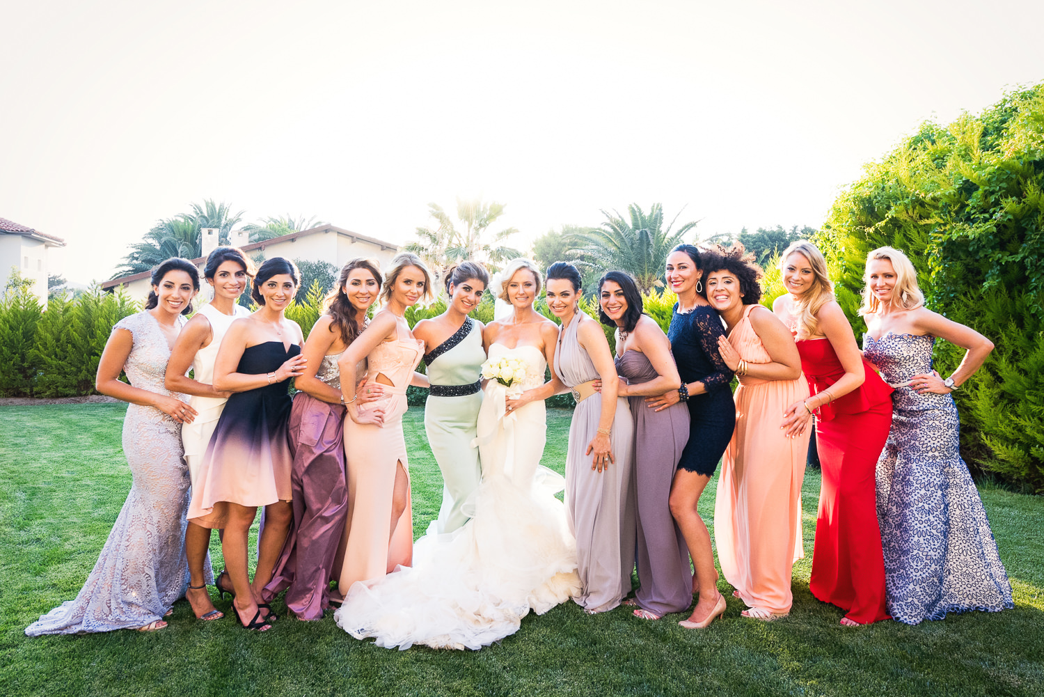 Turkey Wedding - Bridal Party