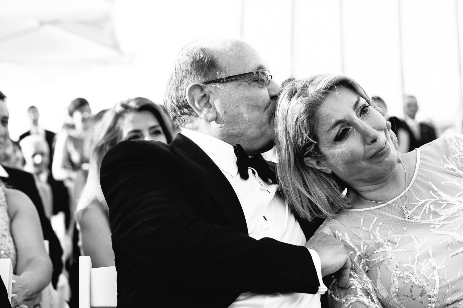 Turkey Wedding - Father and Mother Showing Emotion
