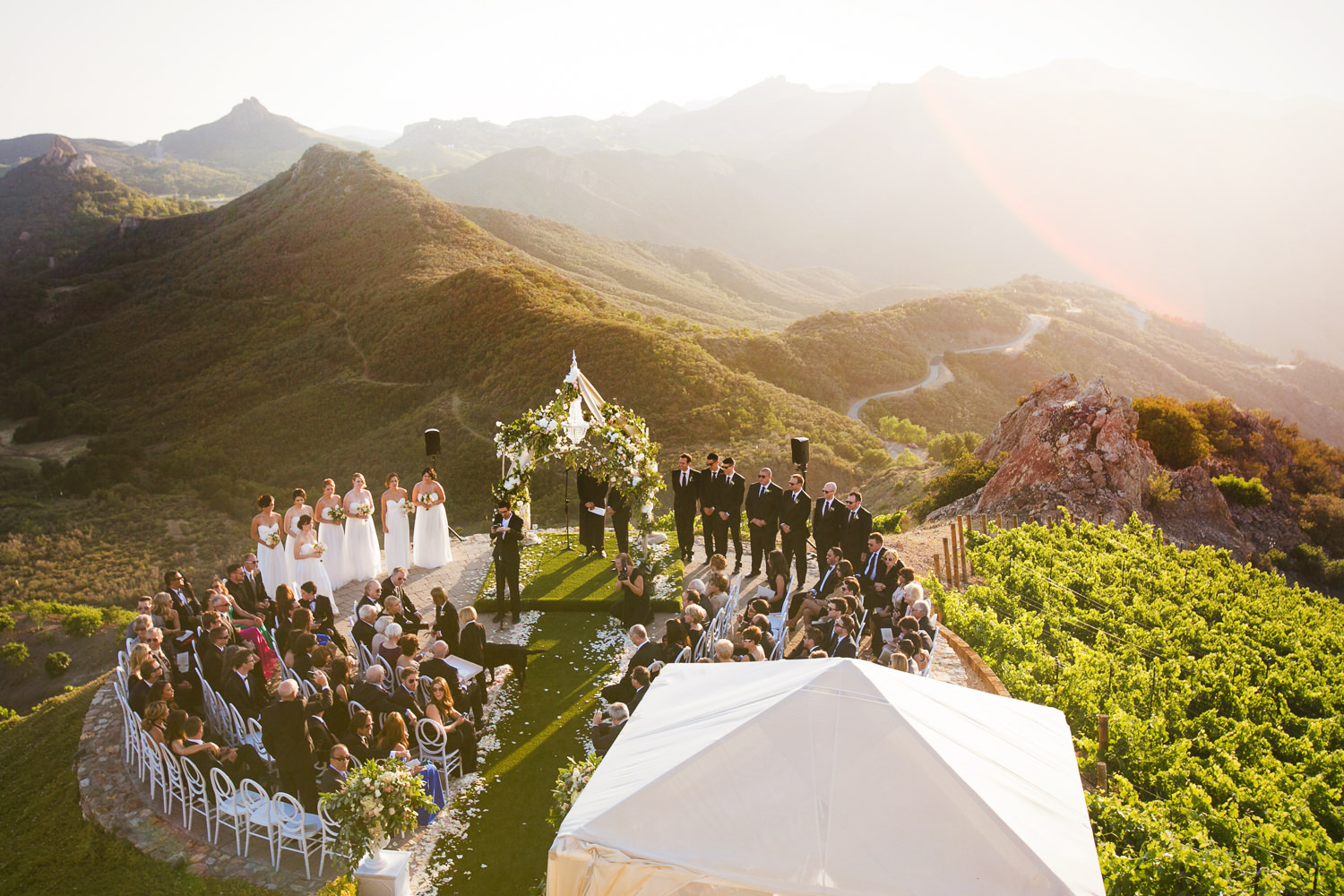 Malibu Rocky Oaks Photographer - Gorgeous Wedding Ceremony