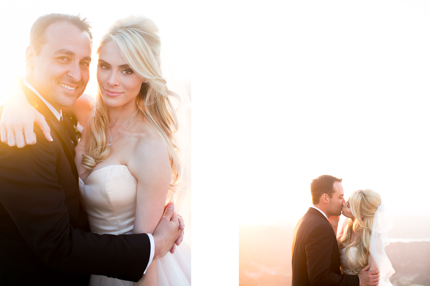 Malibu Rocky Oaks Photographer - Embracing in the sunlight