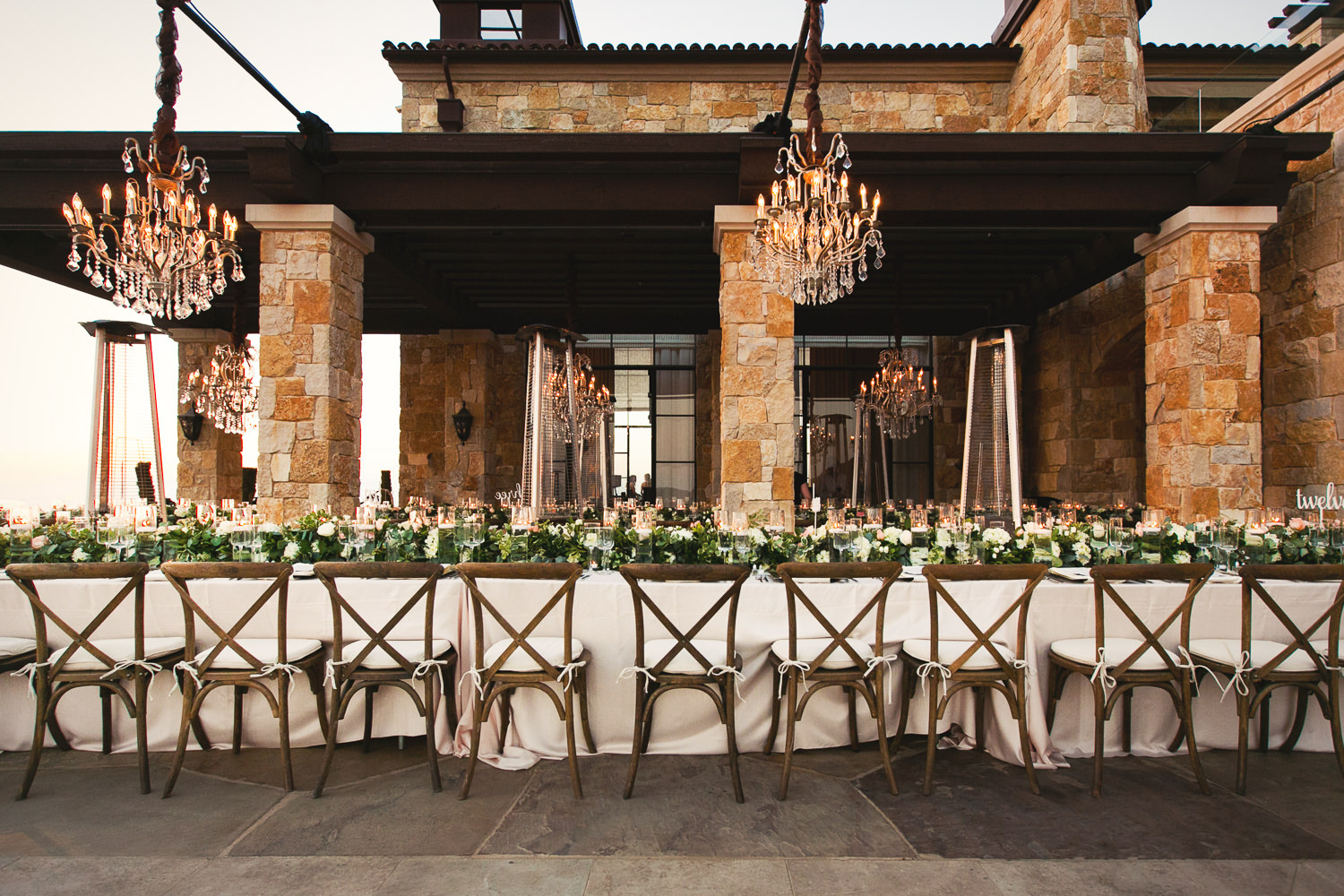 Malibu Rocky Oaks Photographer - Wedding Reception Decor
