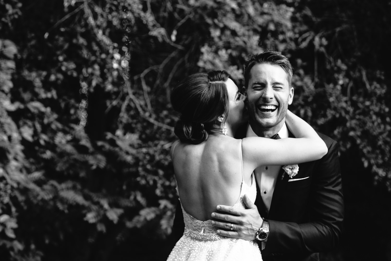 Justin Hartley Wedding in People Magazine at Calamigos Ranch - 2