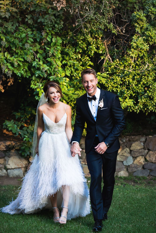 Justin Hartley Wedding in People Magazine at Calamigos Ranch - 4