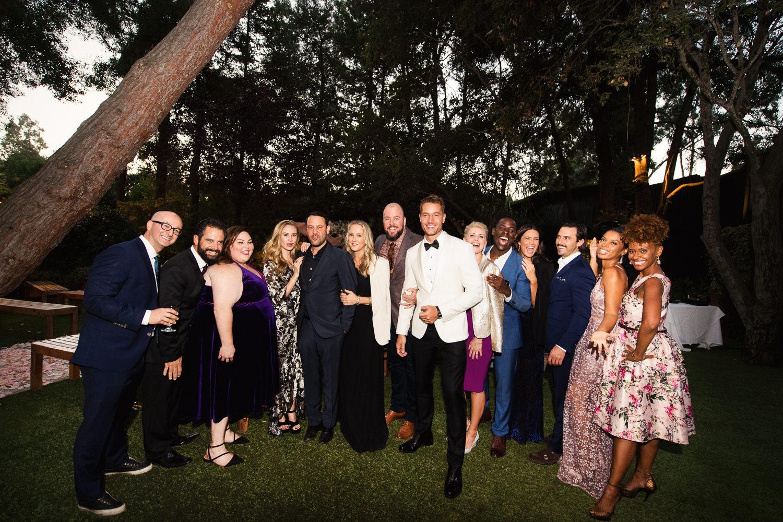 Justin Hartley Wedding in People Magazine at Calamigos Ranch - 7